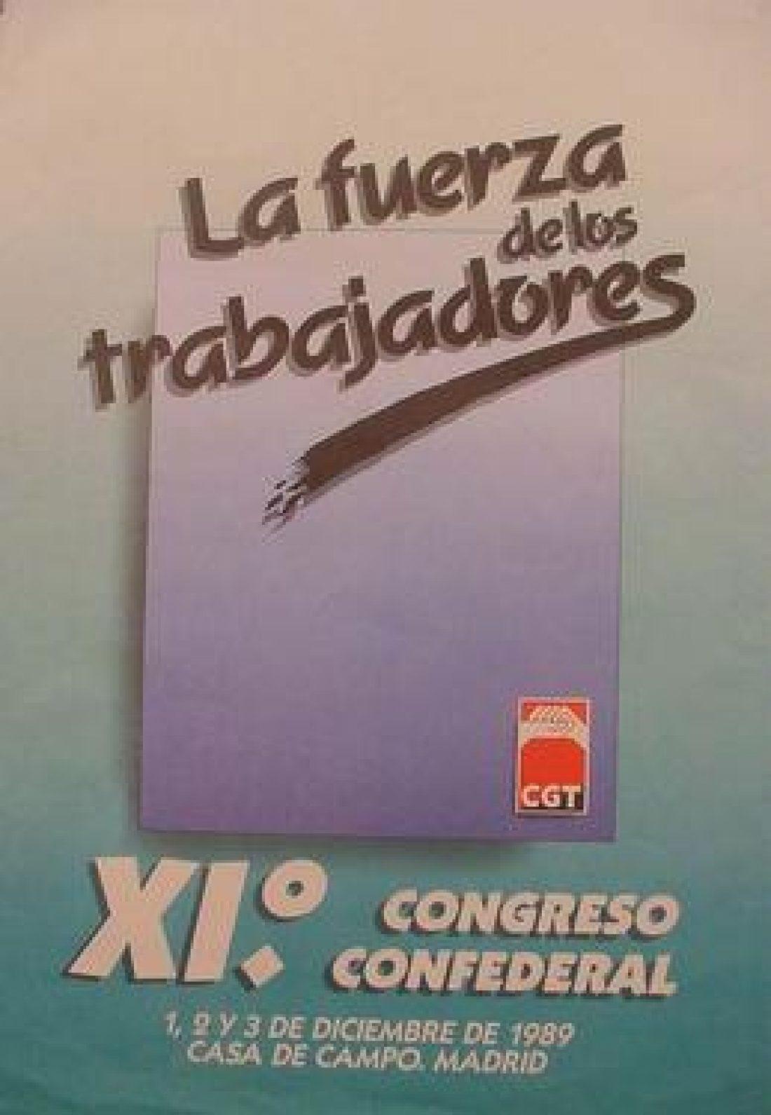 XI Congreso Confederal Madrid 1989