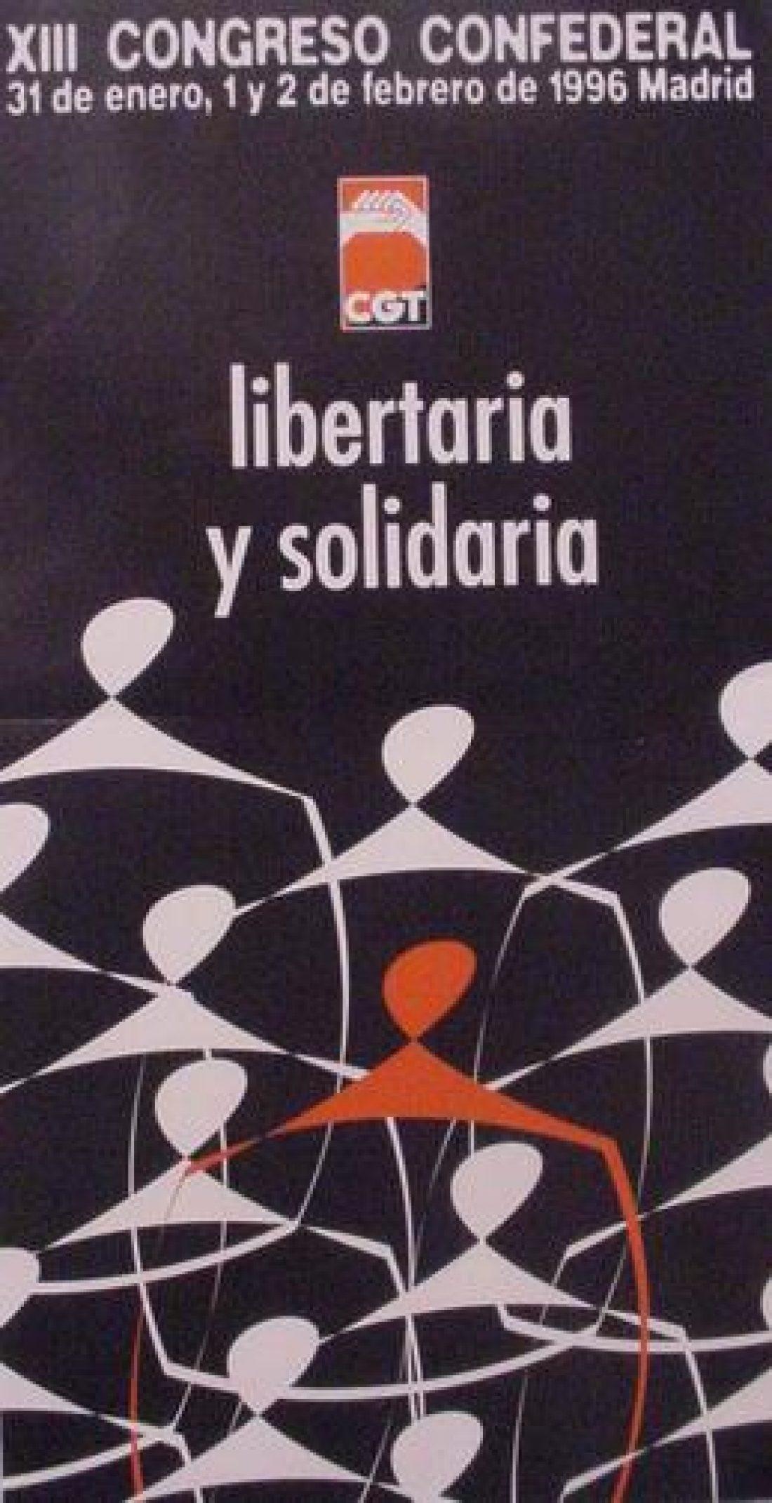XIII Congreso Confederal Madrid 1996