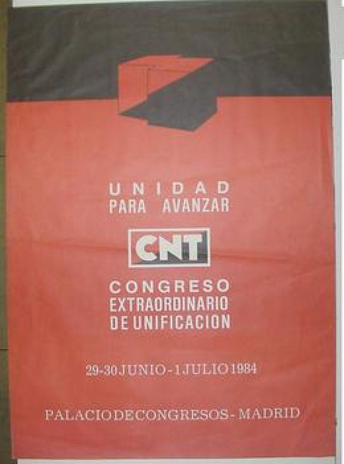 IX Congreso Extraordinario Unificación Madrid 1984