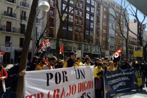 La huelga de repartidores de Correos de Madrid obtiene un 85% de seguimiento