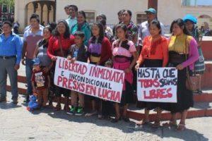 CGT en apoyo a las luchas y la huelga de hambre en las cárceles de Chiapas