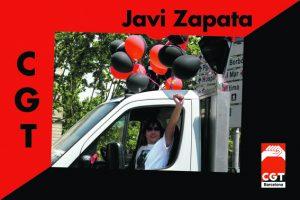 Javier Zapata, del Sindicato de Administración Pública de Barcelona, nos ha dejado