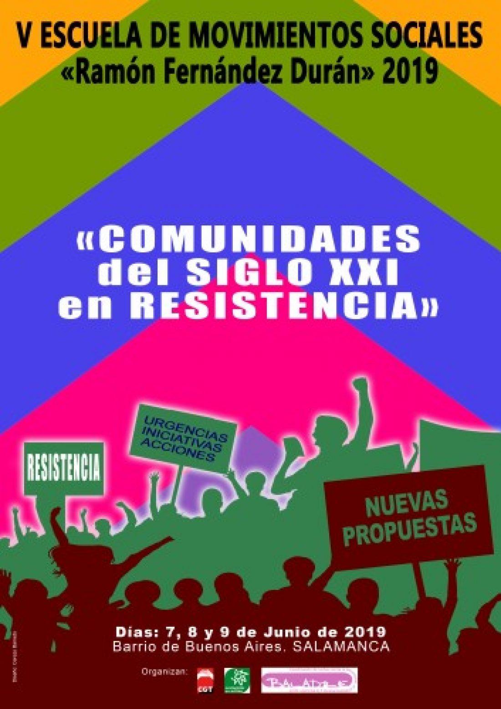Nueva edición de la Escuela Social Ramón Fernández Durán