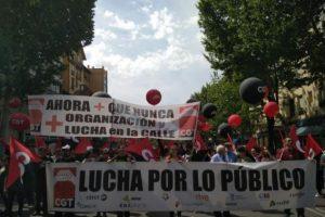 CGT recuerda en este 1º de Mayo que la organización y la lucha de la Clase Trabajadora son más necesarias que nunca