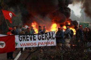 Solidaridad con la Huelga General del próximo 14 de junio en Brasil