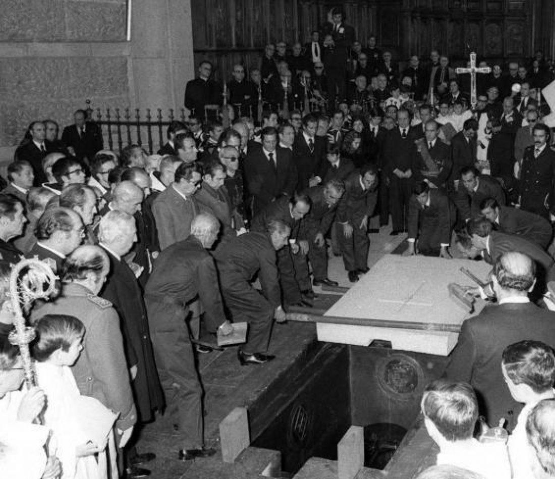 CGT rechaza la paralización del proceso para sacar al dictador del Valle de los Caídos
