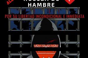Campaña de solidaridad con los presos en huelga de hambre en Chiapas
