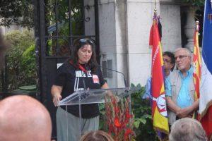 CGT estuvo presente en los actos de homenaje a los hombres de La Nueve en París