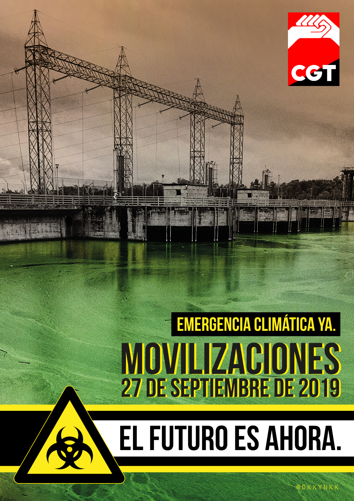 """""""El problema no es el clima… el problema es el capitalismo"""""""