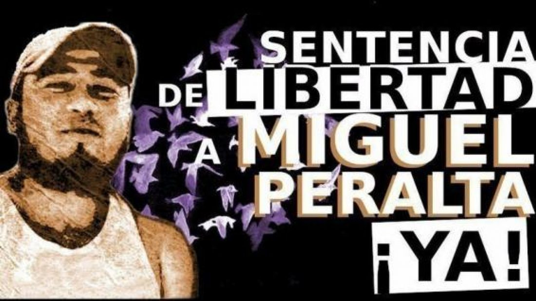 Libertad para Miguel Ángel Peralta