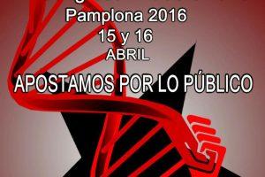 Cartel VI Congreso Extraordinario CGT (Pamplona 2016)