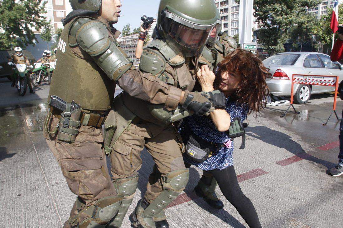 Solidaridad con la digna rabia y resistencia en Chile