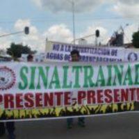 Frente a la sistemática forma de intimidación, denunciamos la violencia contra SINALTRAINAL (Colombia)