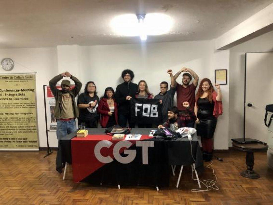 Compartimos reflexiones y propuestas de construcción desde el sindicalismo rojinegro de hoy en São Paulo, Brasil