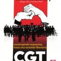 Cartel V Congreso Extraordinario CGT (Toledo 2012)
