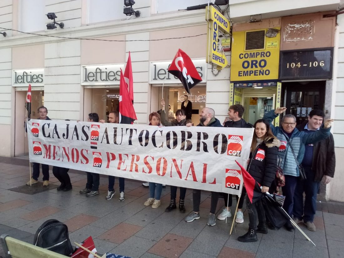 CGT Gana las elecciones en Zara y Lefties en Madrid