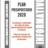 Boletín 162: Plan Presupuestario 2020
