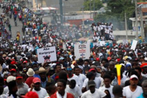 Apoyamos la lucha del pueblo de Haití