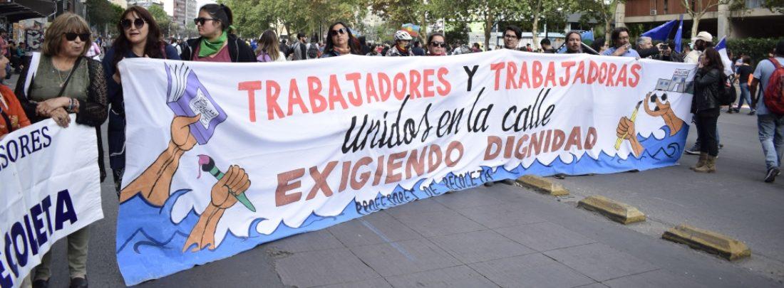 Chile: Huelga general el 12 de noviembre