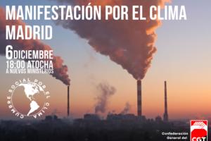 Manifestación Internacional por el Clima en Madrid