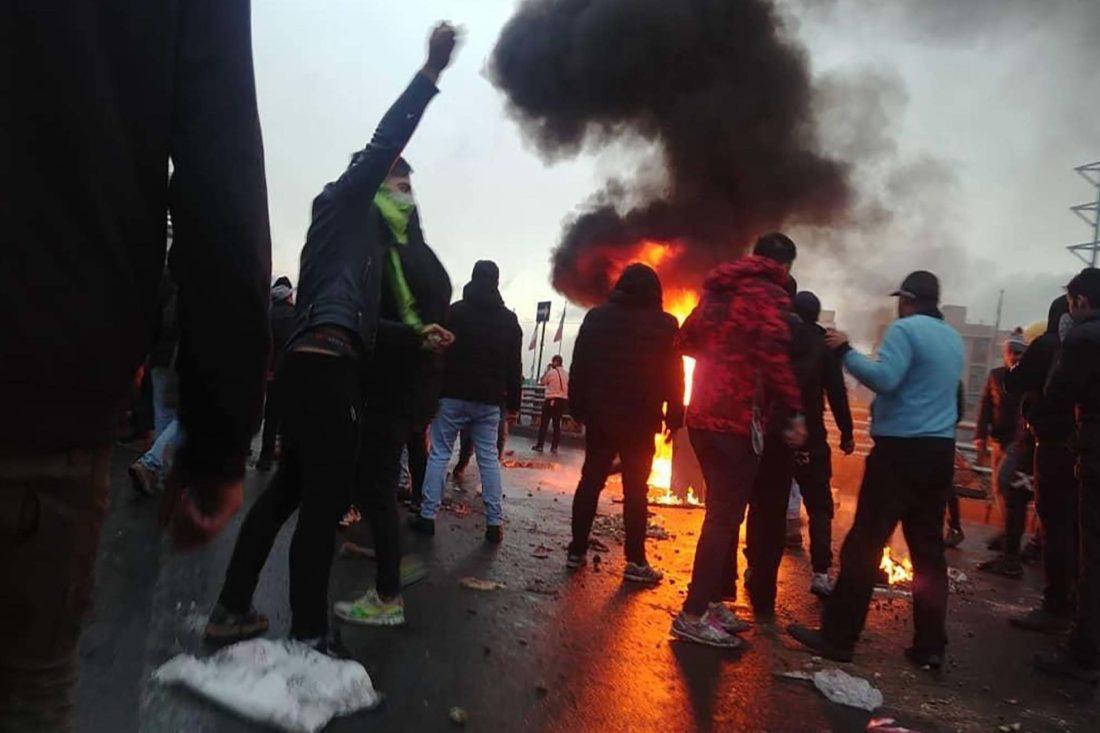 IRÁN: Solidaridad internacional con el pueblo iraní en lucha