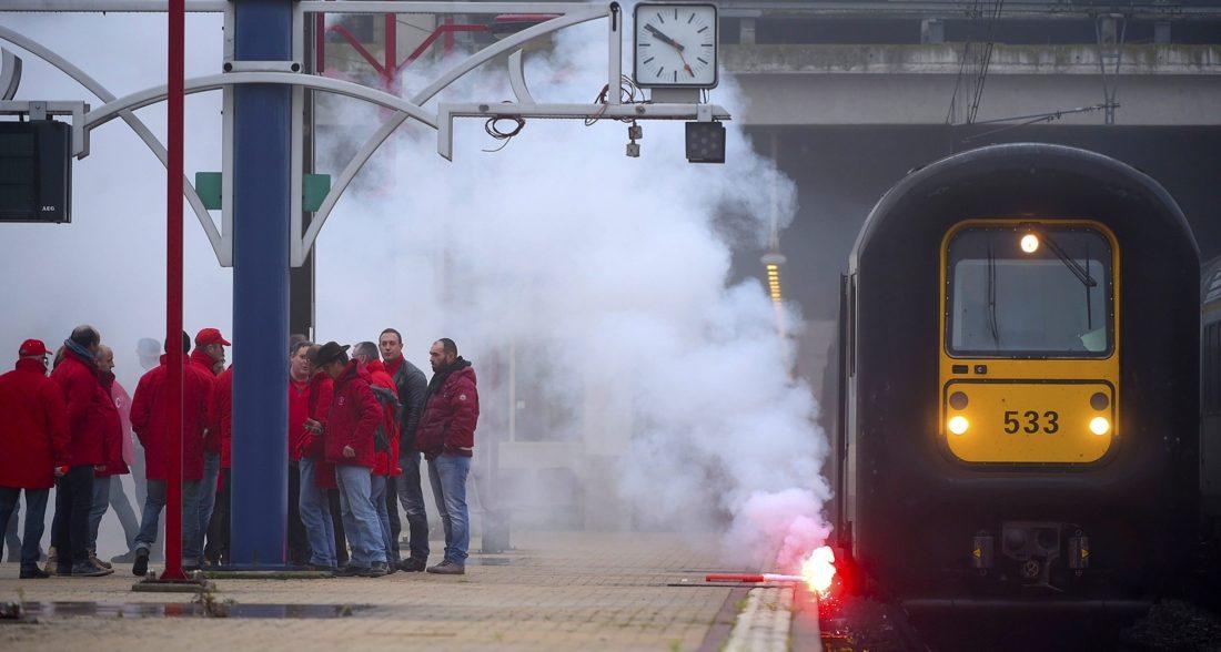 Bélgica: Huelga en el sector ferroviario el 19 de diciembre