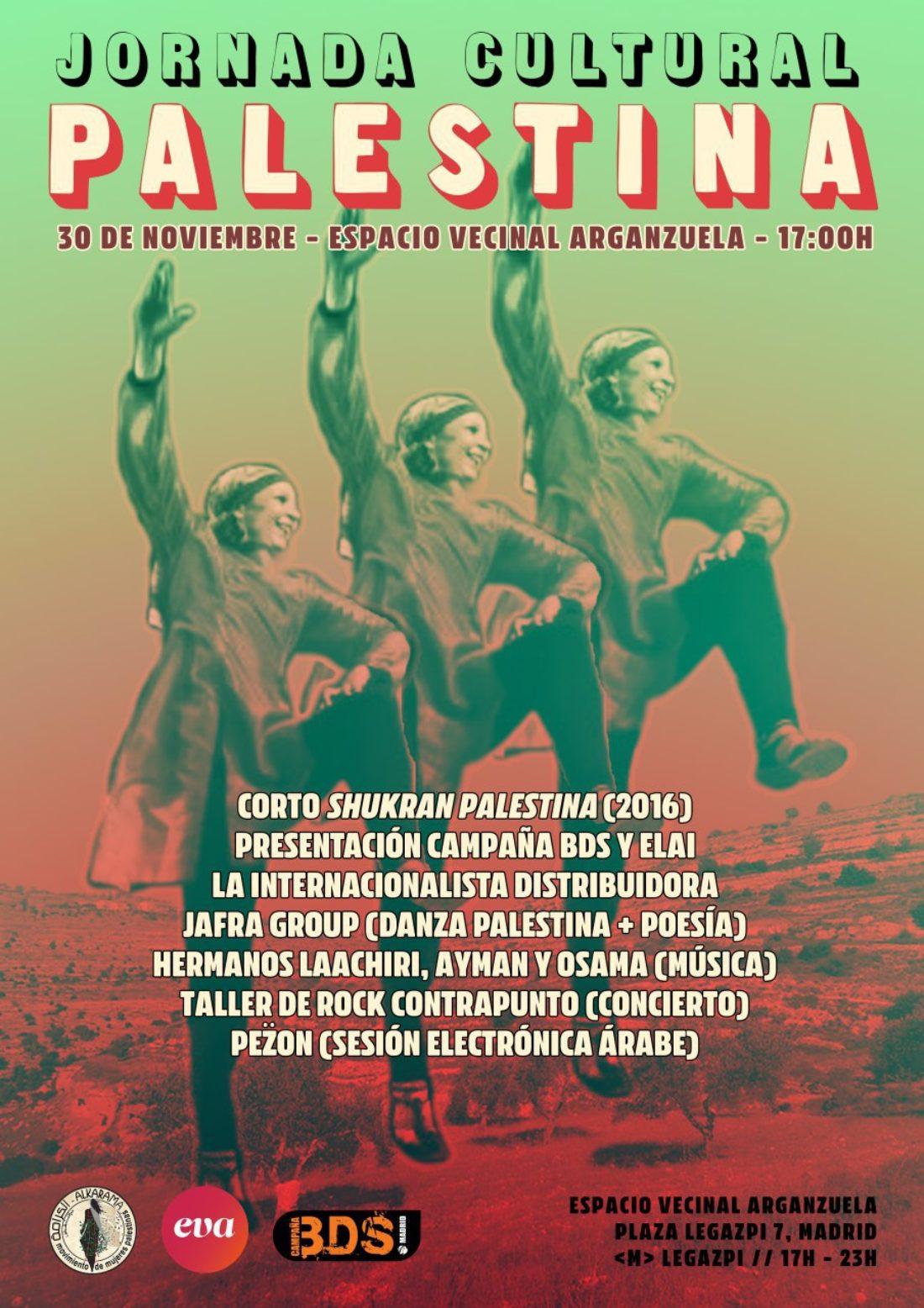 29N: Día Internacional de Solidaridad con el Pueblo Palestino