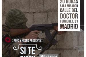 Presentación del documental «Si te dicen que caí en Rojava»