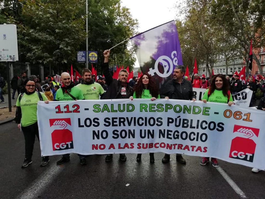 CGT convoca huelga durante el periodo navideño en Salud Responde en Jaén