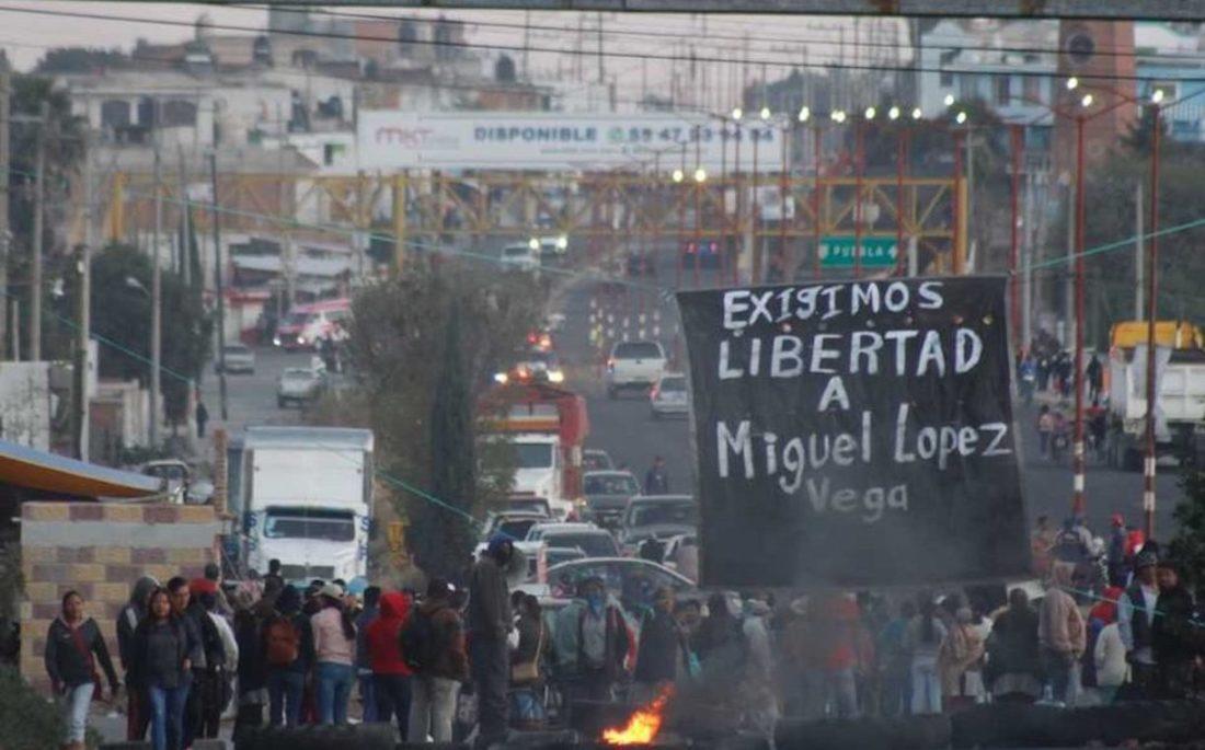 Libertad inmediata para Miguel López Vega