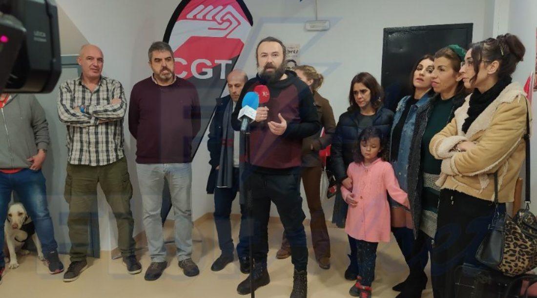 Inauguración de la sede comarcal CGT Sierra de Cádiz en Alcalá del Valle