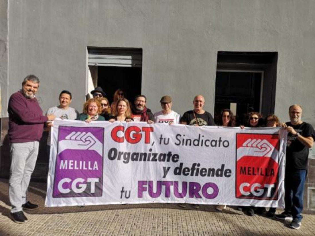 CGT inaugura un nuevo local en Melilla