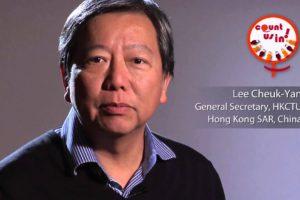 Hong Kong: ¡solidaridad con Lee Cheuk Yan y todos los sindicalistas de HKCTU!