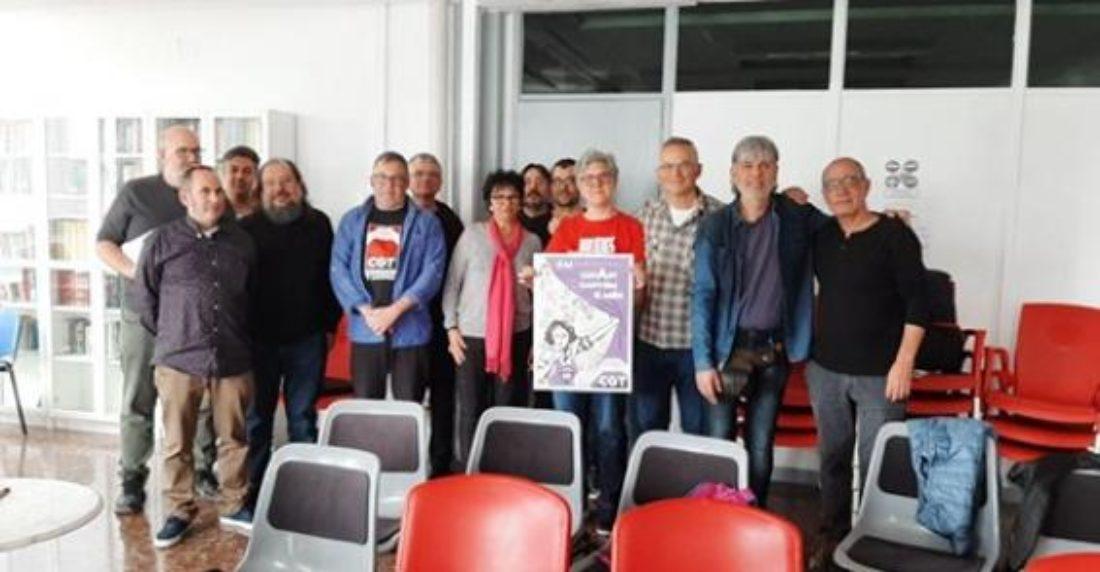 El Pleno de sindicatos de CGT País Valencià y Murcia elige Secretariado Permanente