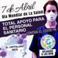 CGT se suma a la reivindicación internacional en defensa de la Sanidad Pública en el Día Mundial de la Salud
