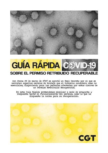 Guía Rápida Covid-19 sobre permiso recuperable