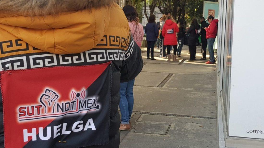 México: Huelga en SutNotimex
