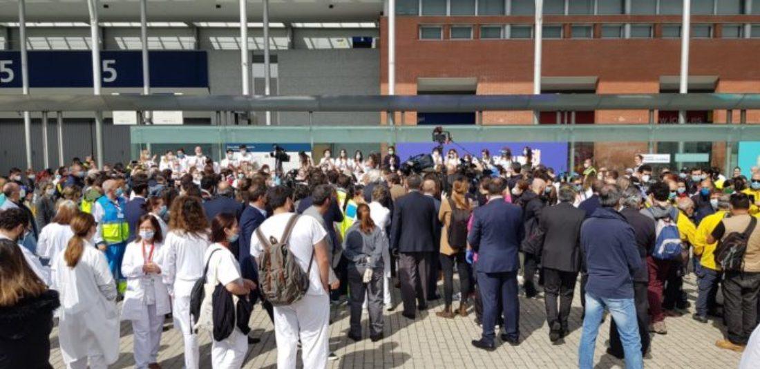 CGT considera un grave error el cierre precipitado del hospital del IFEMA