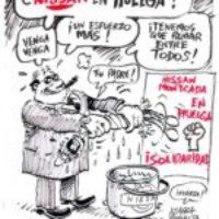 Apoyo a los huelguistas de Nissan en Cataluña