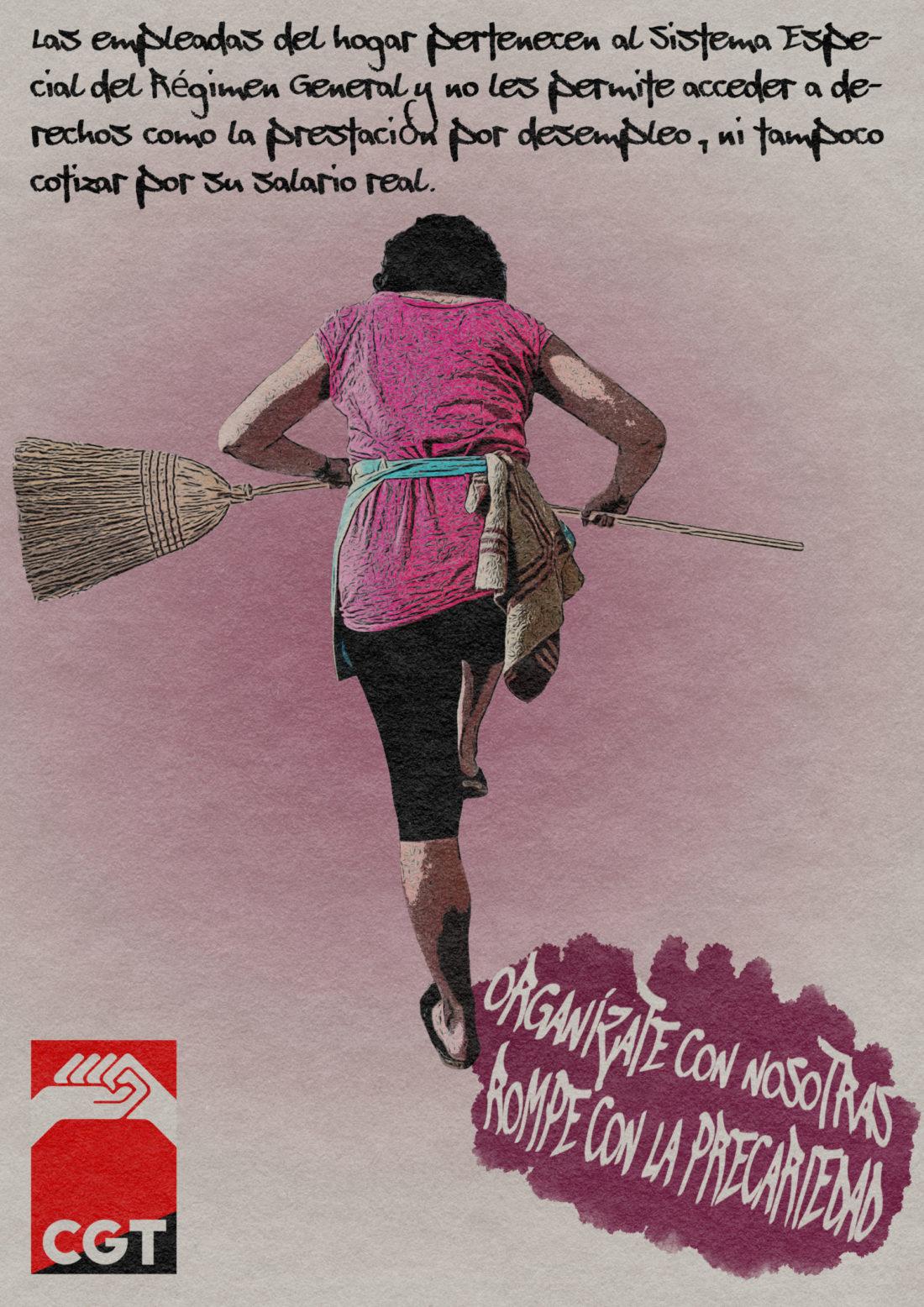 Muchos años para que se reconozcan los derechos de las trabajadoras del hogar
