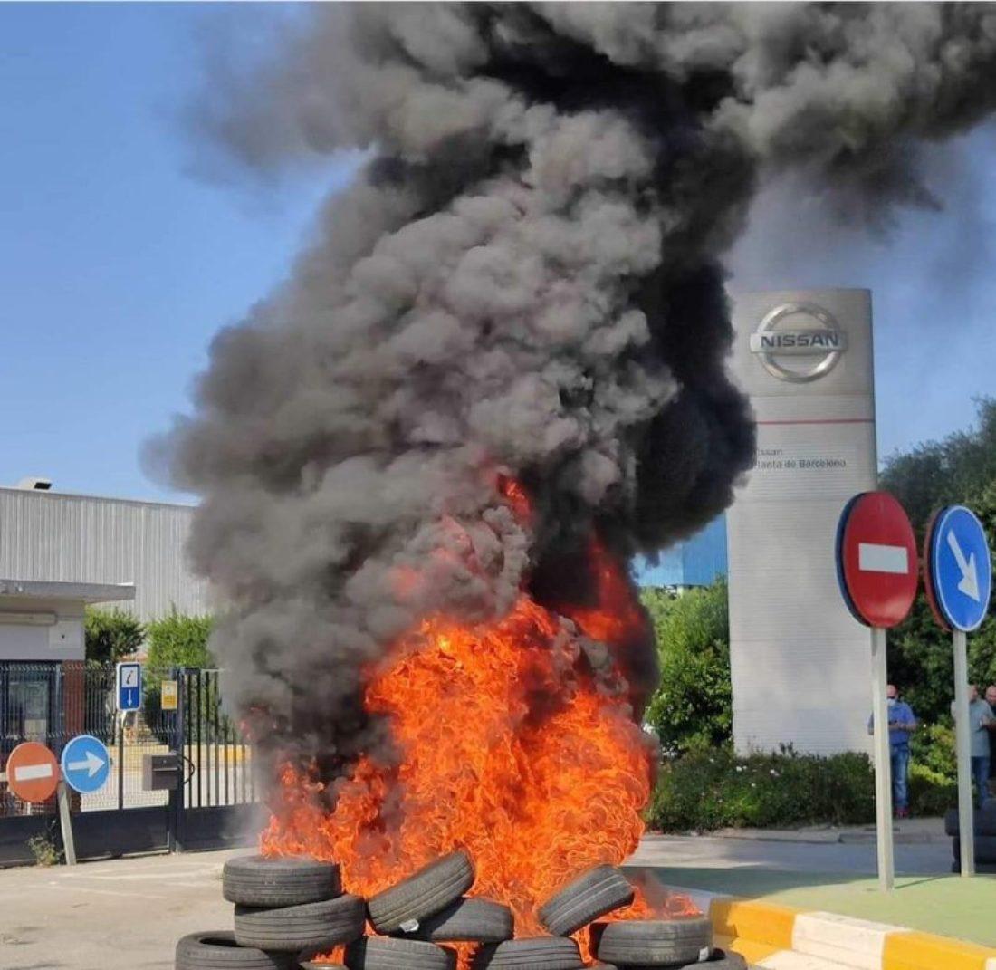 CGT advierte que las movilizaciones contra el cierre de Nissan serán muy duras y sin miedo a las consecuencias