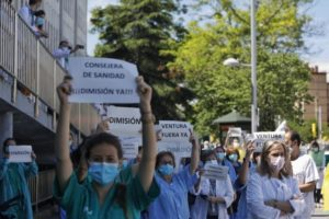 Bochornosas declaraciones de la Consejera de Sanidad Pilar Ventura