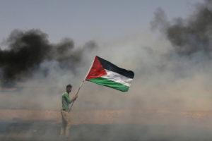 ¡Estamos con las palestinas y palestinos!