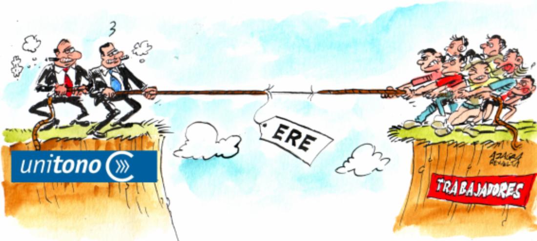 Unitono: 38 despidos avalados por UGT y CCOO  ¿Por qué CGT no firma este ERE?