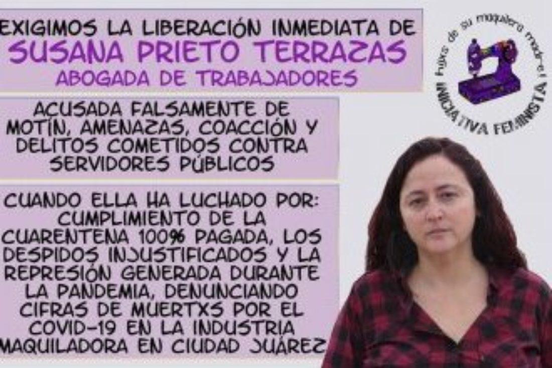 México: ¡Liberación de Susana Prieto Terrazas!