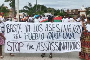 Por la aparición con vida del líder Garífuna Snider Centeno y los integrantes de Triunfo De La Cruz desaparecidos (Honduras)