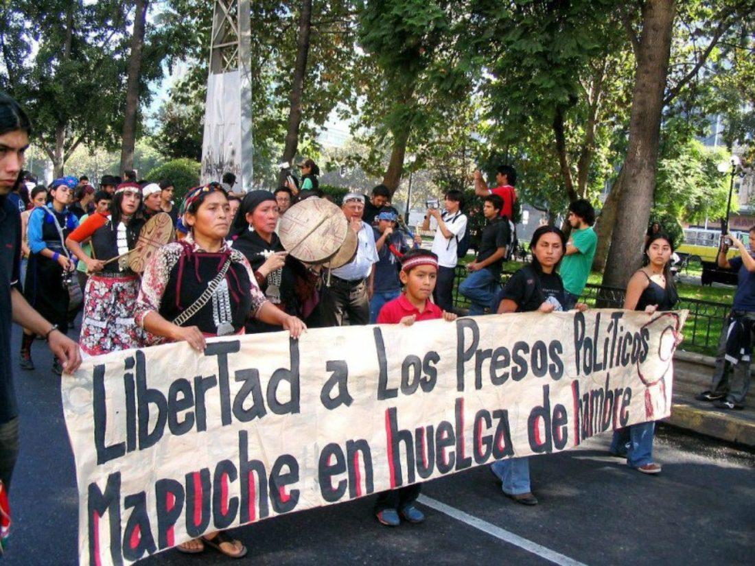 Libertad inmediata para los presos políticos mapuches en huelga de hambre (Chile)