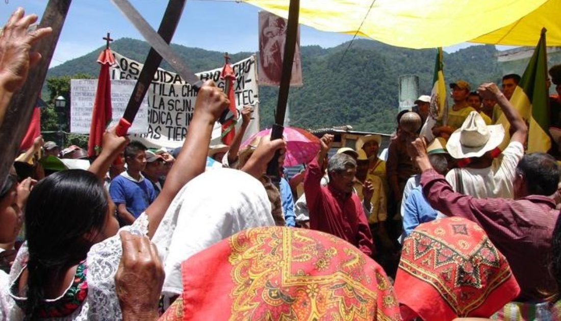 Por el respeto a la autonomía zapatista en el Ejido Tila