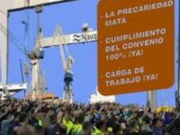 Se retrasa el inicio de la huelga general indefinida en el sector del Metal en Bahía de Cádiz – La Janda hasta las 00:00 h. del 4 de septiembre