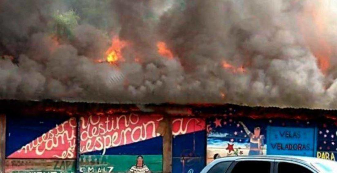 Alto a la guerra contra los pueblos zapatistas